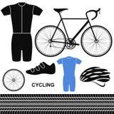 Cycling. Set Royalty Free Stock Photos