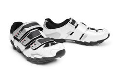 Cycling shoes Royalty Free Stock Images