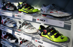 Cycling Shoes Royalty Free Stock Image