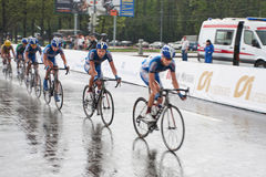Cycling street race Stock Photography