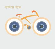 Cycling style Stock Images