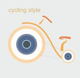Cycling style Royalty Free Stock Photos
