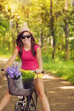 Cycling in summer day Royalty Free Stock Photography