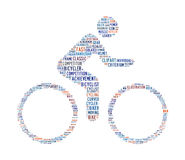 Cycling text symbol Royalty Free Stock Photos