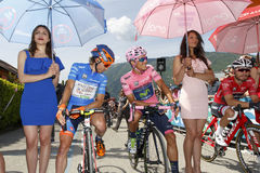 Cycling: 99th Tour of Italy 2016 / Stage 14 Stock Images