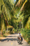 Cycling through Thailand Royalty Free Stock Photos