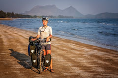 Cycling through Thailand Royalty Free Stock Photography