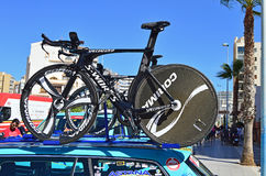 Cycling Time Trial TT Bike Stock Images