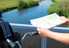 Cycling tour brandenburg Royalty Free Stock Photo