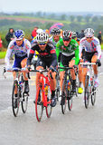 Cycling Tour of Britain Royalty Free Stock Images