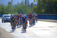 Cycling Tour,Bulgaria Royalty Free Stock Image