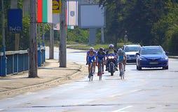 Cycling Tour,Bulgaria Stock Image