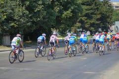 Cycling Tour competitors Stock Photo