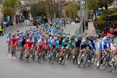 Cycling Tour Prologue Stage Royalty Free Stock Image
