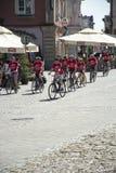Cycling tour Schweik Royalty Free Stock Photos