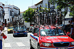 Cycling tour to Spain 72 Royalty Free Stock Photos
