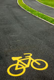 Cycling track Stock Photos