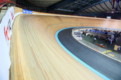 Cycling track at world championships Royalty Free Stock Photography