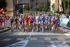 Cycling - UCI Road World Championships 2009 Royalty Free Stock Photo