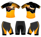 Cycling vest adventure style Stock Images