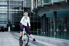 Cycling woman Stock Photos