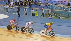 Cycling World Champion Avila Vanegas royalty free stock photo