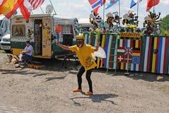 Cyclism fan Stock Photo