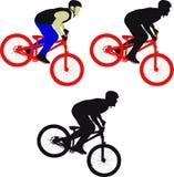 cyclist illustrazione vettoriale