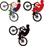 cyclist royalty illustrazione gratis