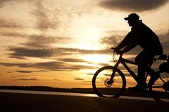 Cyclist Stock Photo