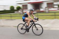cyclist Fotografie Stock