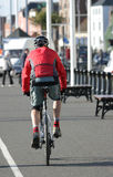 Cyclist. Commuting Royalty Free Stock Photography