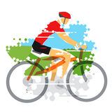 cyclist Fotografia Stock Libera da Diritti
