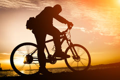cyclist fotografia de stock royalty free