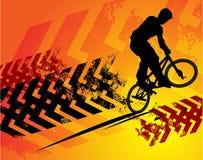 Cyclist abstract Stock Photos