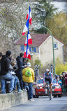 The Cyclist Adam Hansen - Paris-Nice 2016 Royalty Free Stock Photo