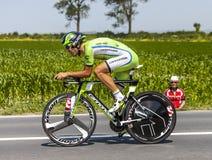 The Cyclist Alan Marangoni Royalty Free Stock Image