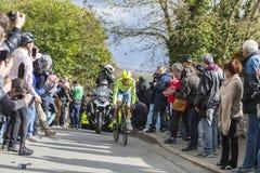 The Cyclist Alberto Contador - Paris-Nice 2016 Royalty Free Stock Image