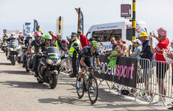 The Cyclist Alejandro Valverde Belmonte Royalty Free Stock Photography