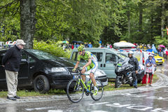 The Cyclist Alessandro De Marchi Stock Images