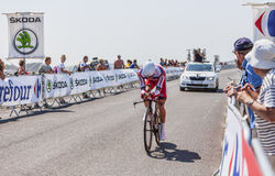 The Cyclist Alexander Kristoff Royalty Free Stock Photos