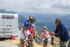 The Cyclist Alexandre Geniez -Tour de France 2015 Royalty Free Stock Photography