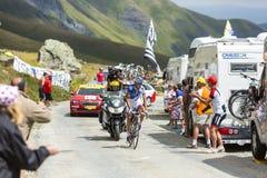 The Cyclist Alexandre Geniez -Tour de France 2015 Royalty Free Stock Photo
