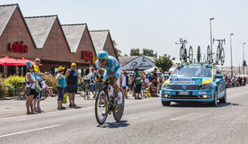 The Cyclist Alexey Lutsenko Stock Photography