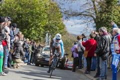 The Cyclist Alexis Vuillermoz - Paris-Nice 2016 Stock Images