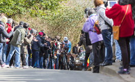 The Cyclist Alexis Vuillermoz - Paris-Nice 2016 Stock Photography