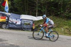 The Cyclist Alexis Vuillermoz - Tour de France 2017 royalty free stock photos