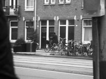 Cyclist at Amsterdam Royalty Free Stock Images