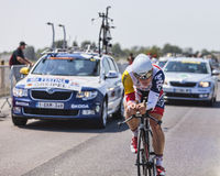The Cyclist Andre Greipel Royalty Free Stock Photos