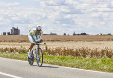 The Cyclist Andrey Kashechkin Royalty Free Stock Photography